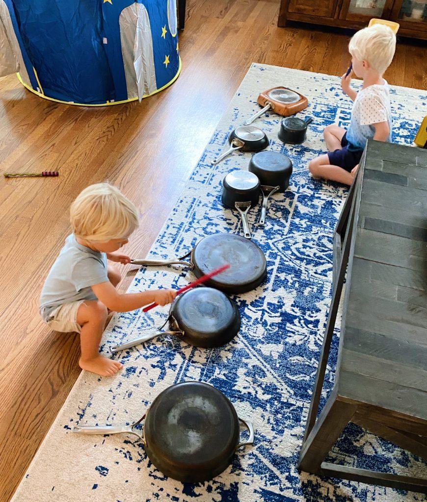 pots and pans concert