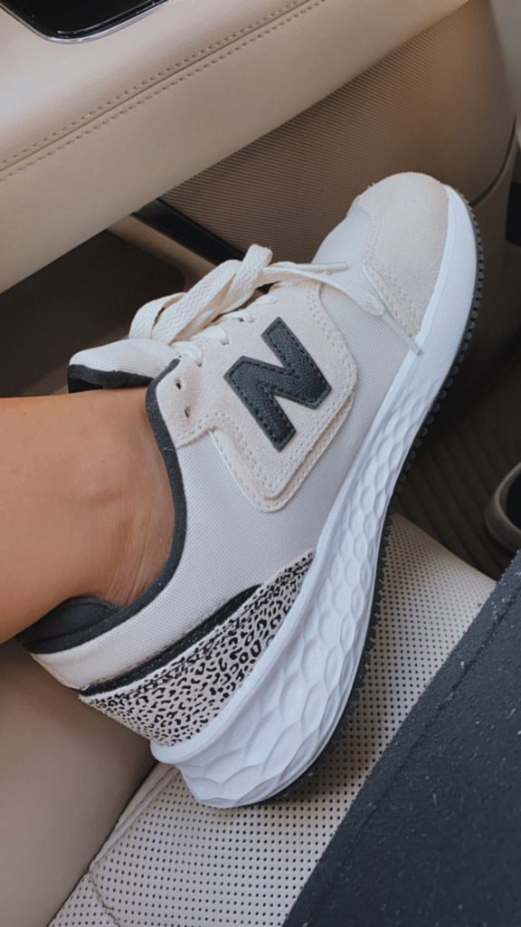 New Balance Leopard Shoes