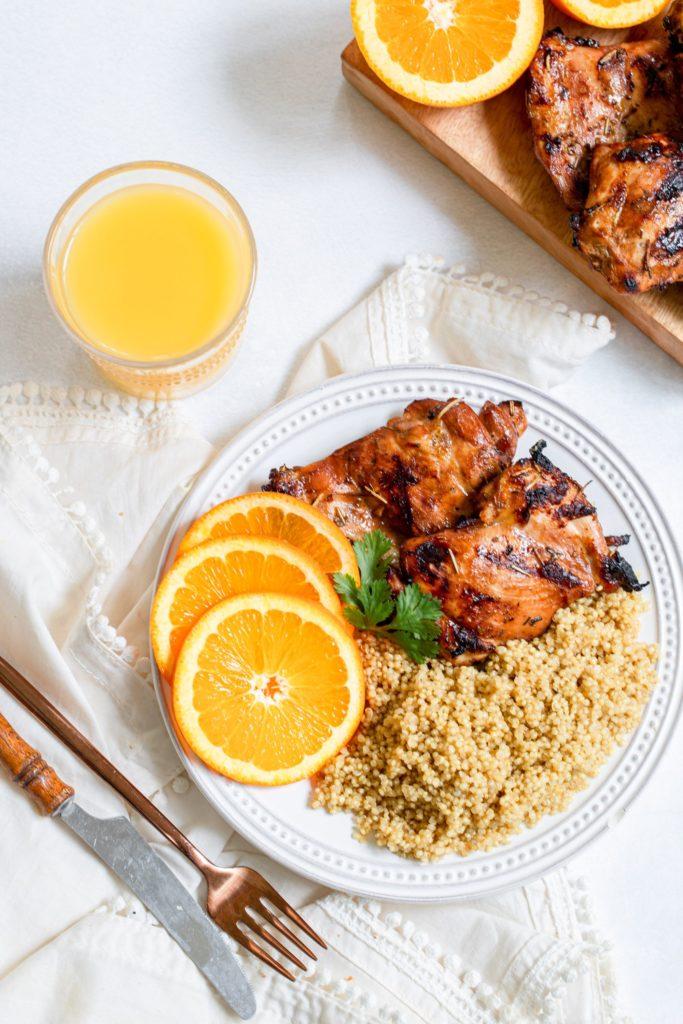 Orange Juice Chicken Marinade