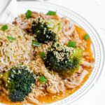 Instant Pot Honey Garlic Chicken and Broccoli