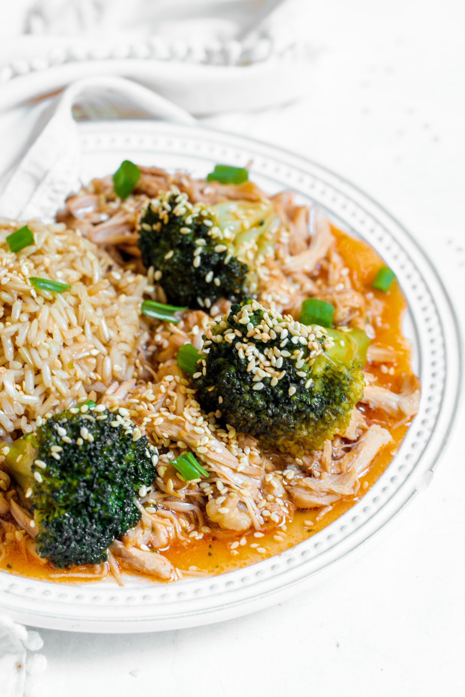 Instant Pot Honey Garlic Chicken And Broccoli Peanut Butter Fingers
