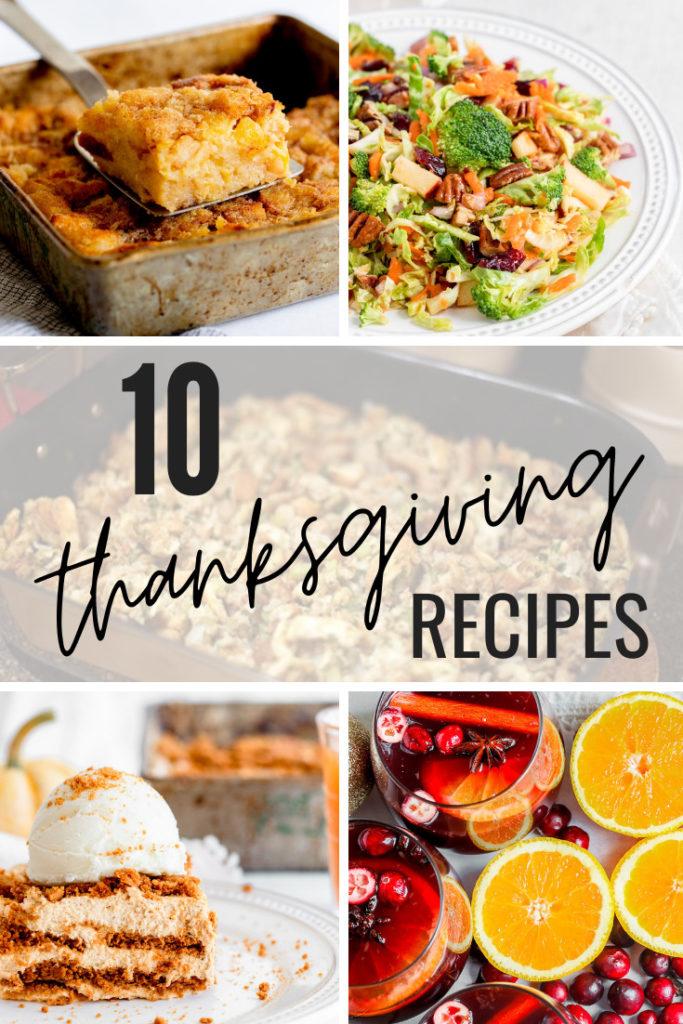 10 Thanksgiving Recipes