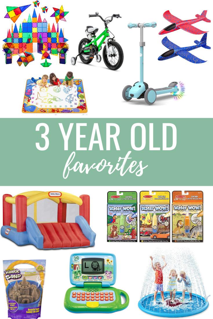 3 year old favorites
